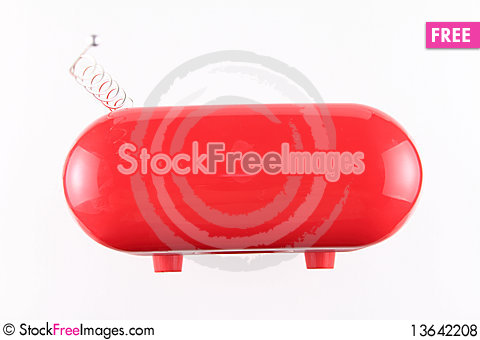 Free Old Radio Receiver Removed From Above Royalty Free Stock Photos - 13642208