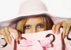 Free The Girl With A Hat Royalty Free Stock Images - 13640149