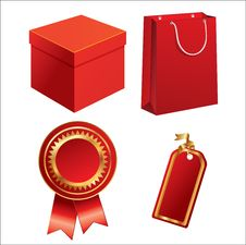 Free Set Of Sales Elements Stock Photo - 13640550