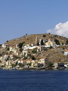 Symi Island, Greece Stock Images