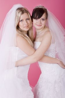 Free Happy Bride Royalty Free Stock Photos - 13640728