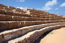 Free Hippodrome In Caesarea Stock Images - 13640824