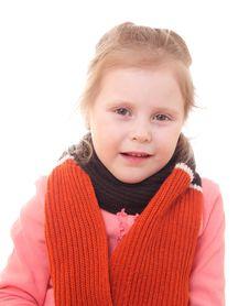 Free Sick Child. Stock Image - 13640921