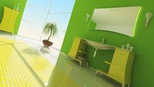 Free Bathroom Interior Stock Photography - 13641392
