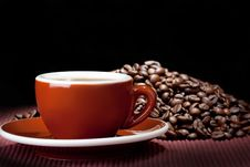 Free Cup Of Coffee Royalty Free Stock Photos - 13642138