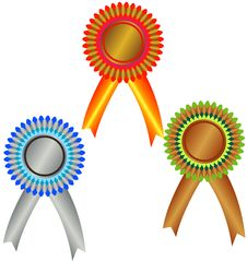 Free West Medals: Champion Medals Stock Images - 13642184
