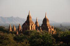 Ancient Burmese Pagoda Royalty Free Stock Photos