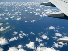 Free View From Airplane Royalty Free Stock Photography - 13642797