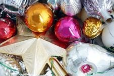 Free Old Russian Christmas Decorations Stock Photo - 13643080