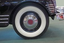 Wheel Of  Limousine Royalty Free Stock Photography