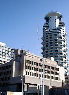 Free Modern Buildings In Tel-Aviv Stock Photography - 13643952