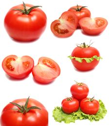 Free Red Tomatoes Royalty Free Stock Photos - 13644218