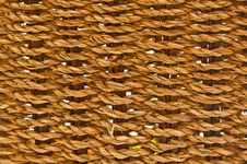 Free Basket Texture. Stock Images - 13644404