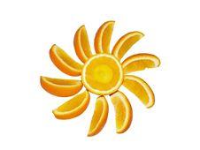 Free Segments Of An Orange Stock Image - 13645051