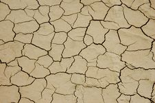 Free Dry Cracked Arable Land-global Warming Stock Photos - 13645353