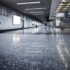 Free Subway Station Stock Photography - 13645532