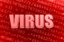 Free Computer Virus Royalty Free Stock Photos - 13645748