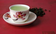 Free Green Tea In A Cup Royalty Free Stock Images - 13645779