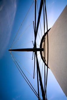 Free Looking Up At A Mill Stock Photos - 13646353