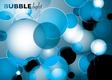Free Bubble Light Blue Stock Photo - 13646850