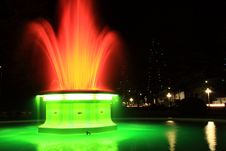 Free Fountain At Night Royalty Free Stock Photos - 13647048