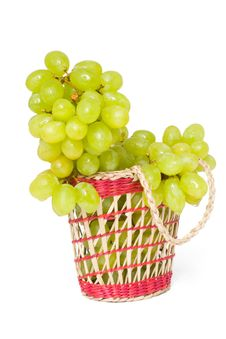 Free Grapes In The Basket Royalty Free Stock Images - 13647179