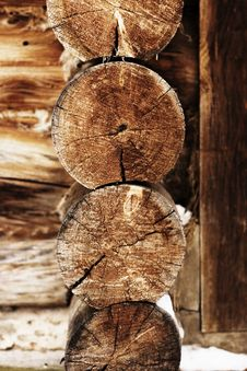 Log House Stock Images