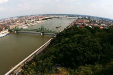Free Aerial View Of Budapest Royalty Free Stock Photo - 13648585