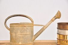 Free Watering Can Stock Photos - 13649033