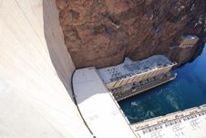 Free Hoover Dam Royalty Free Stock Photo - 13649355