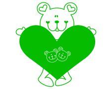 Free Bear Love Stock Photography - 13649372