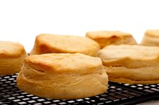Free Fresh Baked Biscuits Royalty Free Stock Images - 13649449