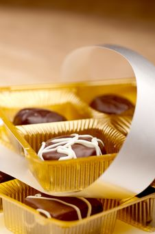 Free Two Trays Of Chocolates Stock Image - 13649461