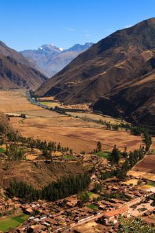 Free Sacred Valley Royalty Free Stock Photography - 13649497