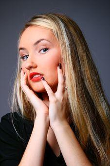 Free Beautiful Stylish Blonde Stock Photography - 13649552