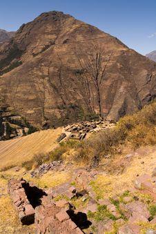 Free Inca Terrace Ruins Stock Photos - 13649573