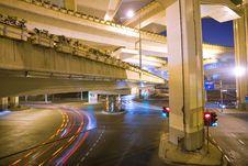 Free Megacity Highway Royalty Free Stock Image - 13649796