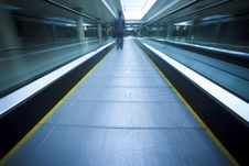 Free Escalator Royalty Free Stock Photo - 13649845