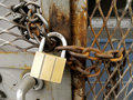 Free Padlocked. Stock Photography - 13653102