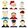 Free Nine Human Heads Stock Photos - 13656283