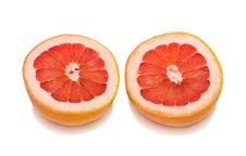 Free Cut Grapefruit Stock Image - 13650461