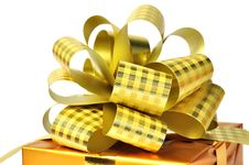 Free Golden Gift Stock Images - 13650904