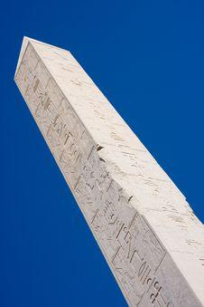 Free Obelisk At Karnak, Egypt Royalty Free Stock Images - 13651069