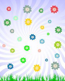 Free Spring Floral Illustration Stock Images - 13651354