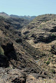 Free Valley At La Palma Royalty Free Stock Photo - 13651465