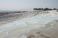 Free Pamukkale Limestone Pools Royalty Free Stock Photos - 13651558