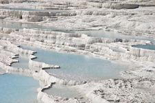 Free Pamukkale Limestone Pools Royalty Free Stock Photography - 13651577