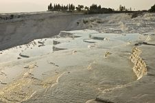 Free Pamukkale Limestone Pools Royalty Free Stock Photography - 13651597