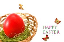 Free Easter Egg. Royalty Free Stock Image - 13651916