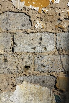 Grunge Brick Texture Stock Image